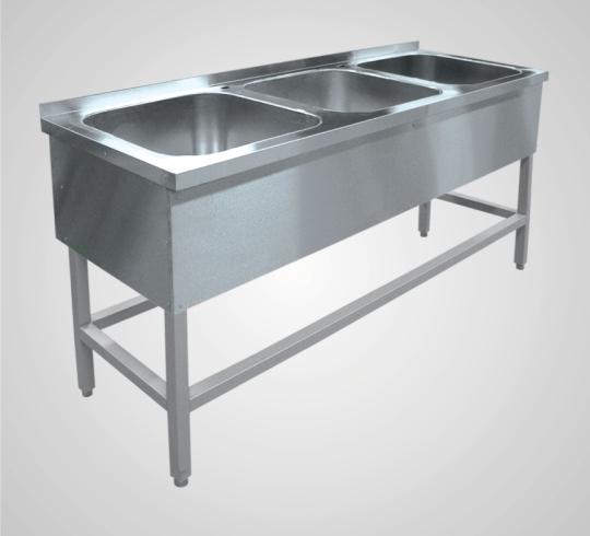 Ванна моечная 3-х секционная